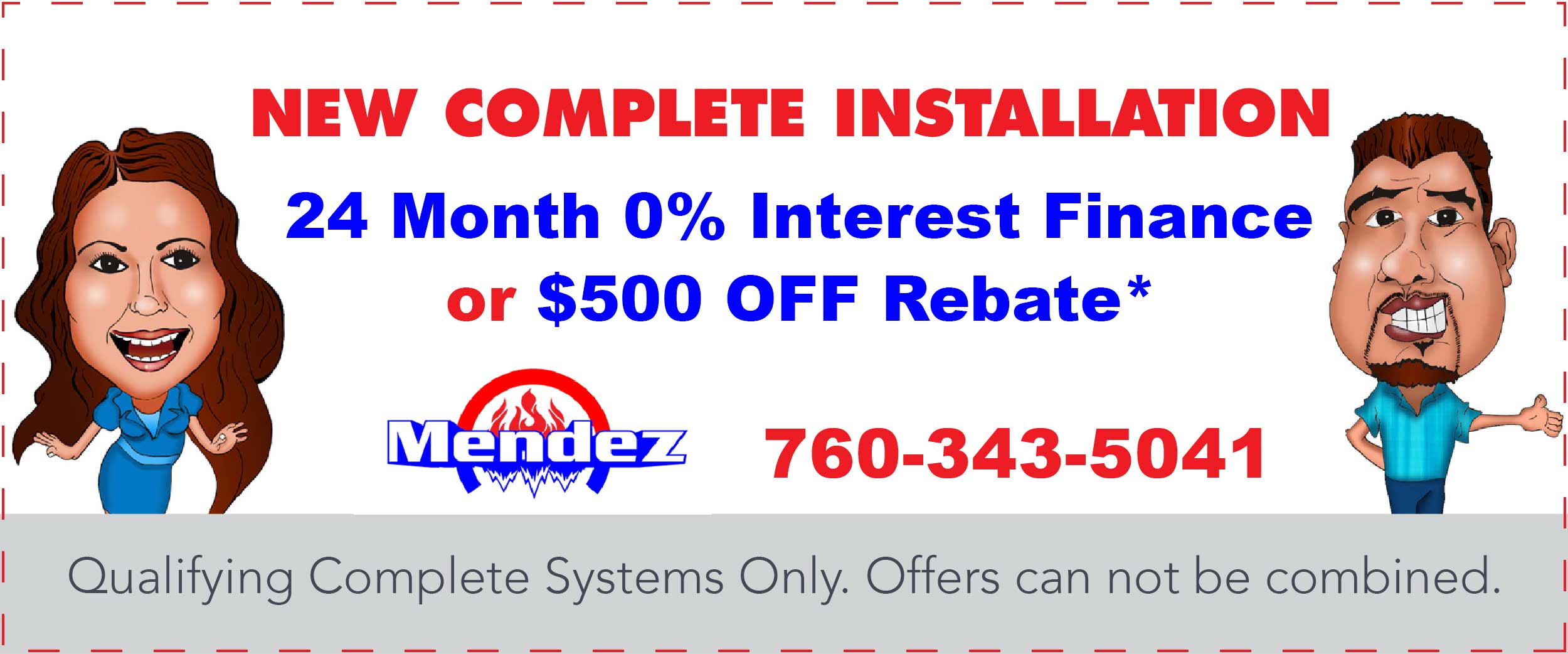 New Complete Installation 24 Month 0 Percent Interest Finance